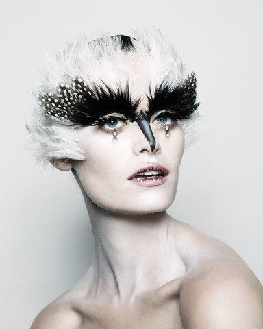 Pat McGrath's Halloween Makeup Creations: Clown, Skeleton, Bird, and Glamorous Witch