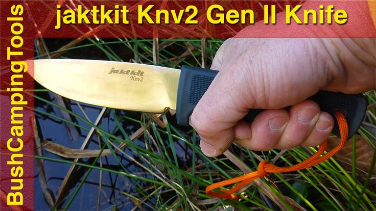 Jaktknivar - jaktkit jaktkniv Knv2 testad av Australienska Bush Camping Tools