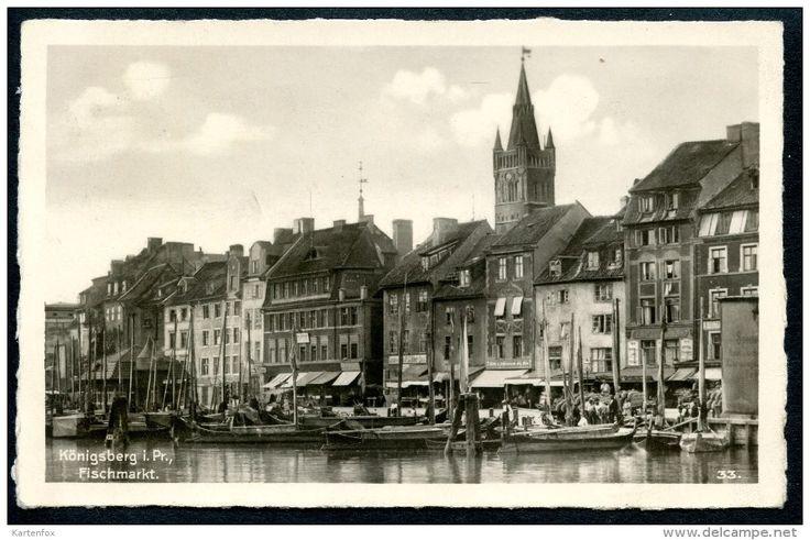 Königsberg I. Pr., Kaliningrad, Fischmarkt, 25.11.1941