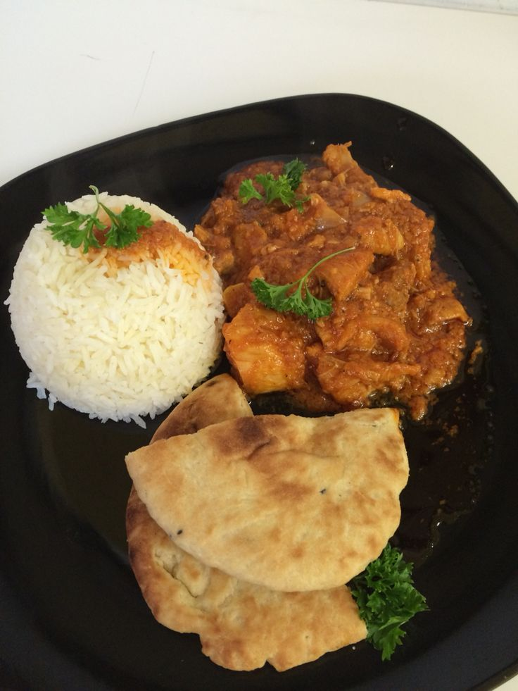 murgh makhani / Buttered chicken with a Jamaican twist.