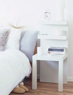 #DIY Nightstandcabinet - #101woonideeen.nl - Dutch interior and crafts magazine