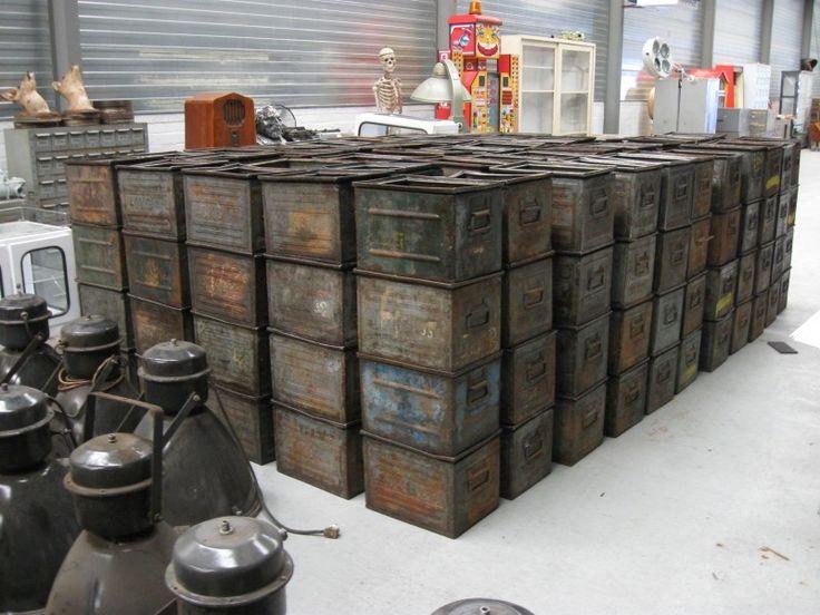 industriele kisten
