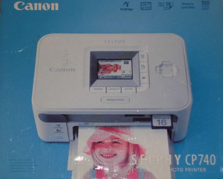 Kompakter Fotodrucker Canon Selphy  CP740 Thermodrucker