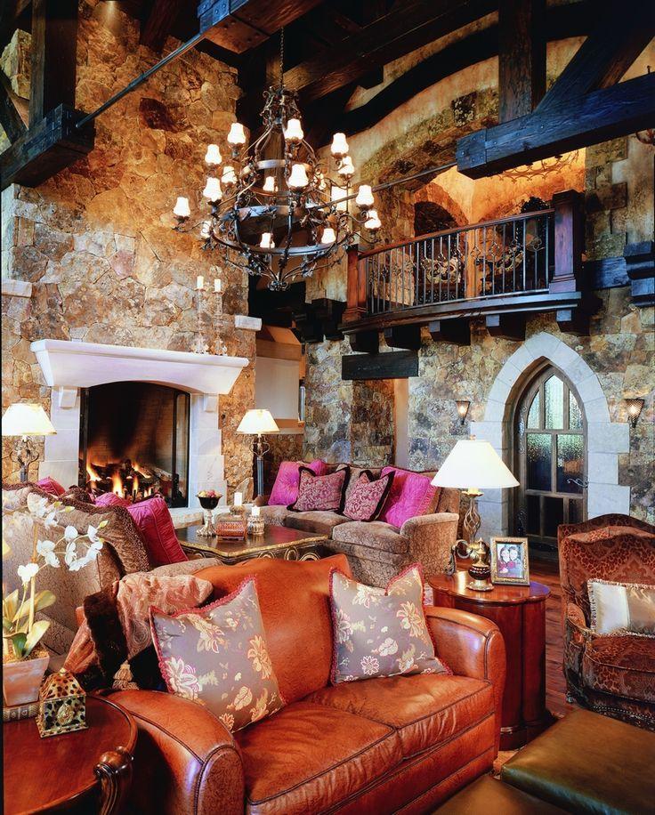 Bachelor gulch residence 2 beaver creek colorado for Hacienda style lighting