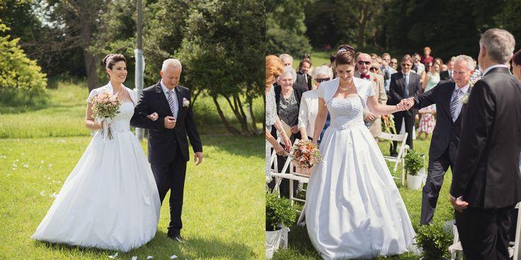 Nevesta v svadobných šatách Aliya