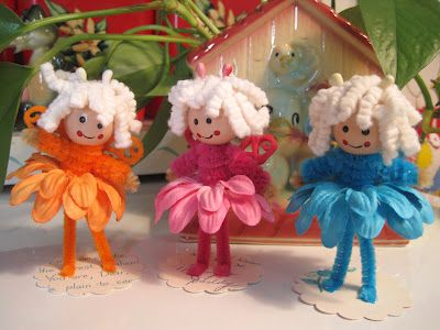 fairy peg dolls