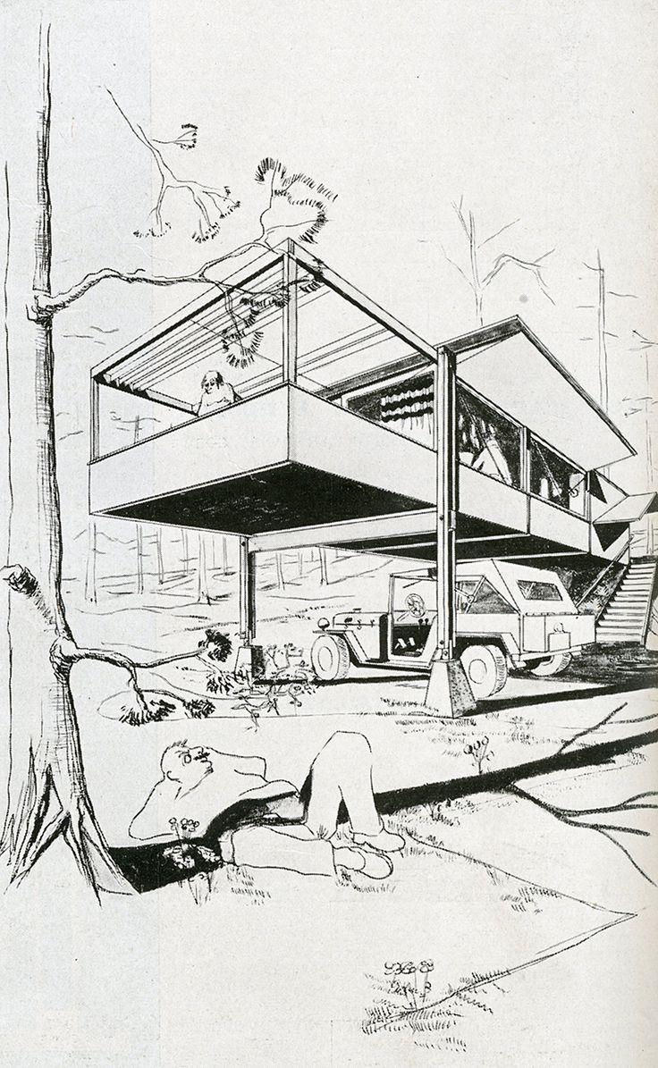 Wright Willis Conklin Geddes. Architecture D'Aujourd'Hui v. 20 no. 28 Feb 1950: 86