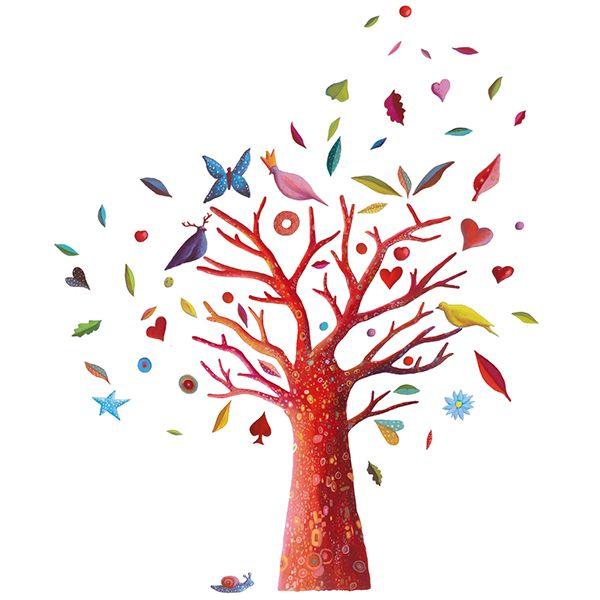 Наклейки на стену Волшебное дерево Djeco Djeco DD04510