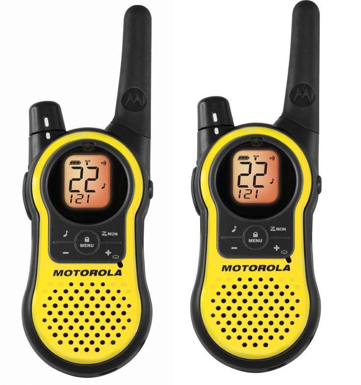 Amazon.com : Motorola MH230R 23-Mile Range 22-Channel FRS/GMRS Two-Way Radio (Pair) : Walkie Talkies : Electronics