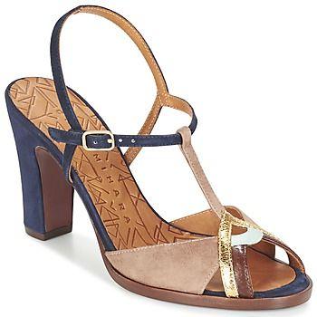 Sandalen / Open schoenen Chie Mihara TENERIFE Blauw / Bruin 262.00 €