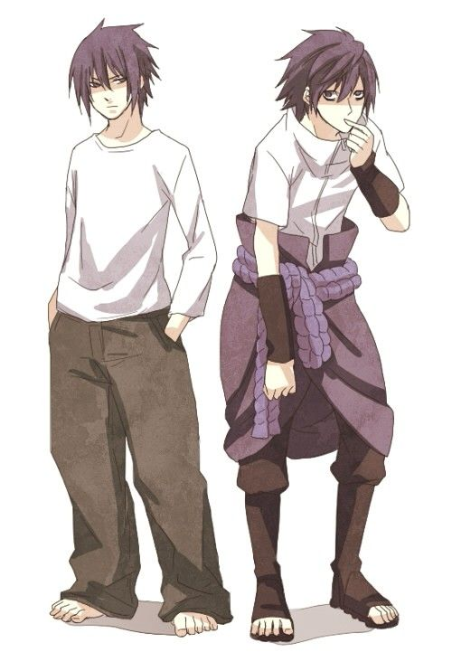 Sasuke and L - holy heck can this be a real thing? Like please? Those two <3
