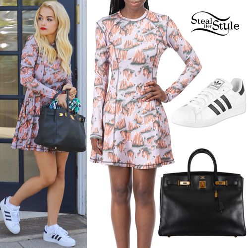 Rita ora was spotted leaving a hair salon in los angeles for Rita beauty salon
