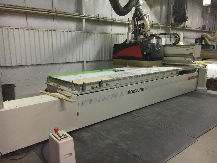 Morbidelli Author 636 Flat Table 5x12 CNC Router with ...