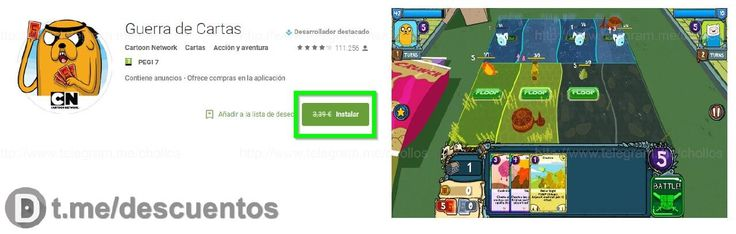 Videojuego para Android Guerra de Cartas GRATIS - http://ift.tt/2odmqSv