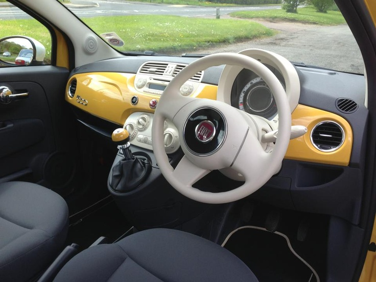 Fiat 500 TwinAir Colour Therapy - Interior