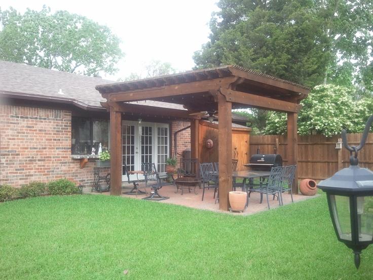20 best Patio Overhang images on Pinterest   Backyard ... on Backyard Overhang Ideas id=52817