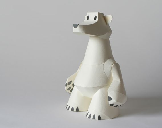 Creative Review - Paper toys: Tetsuya Watabe