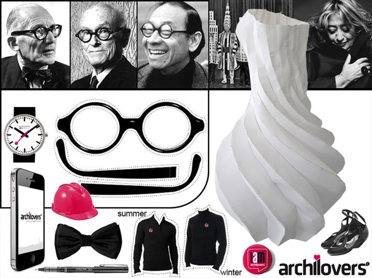 A perfect Archilover's Dress code (ironic)    #archilovers #fashion #style #dress #architect #musthave #architecture #design #designer #famous