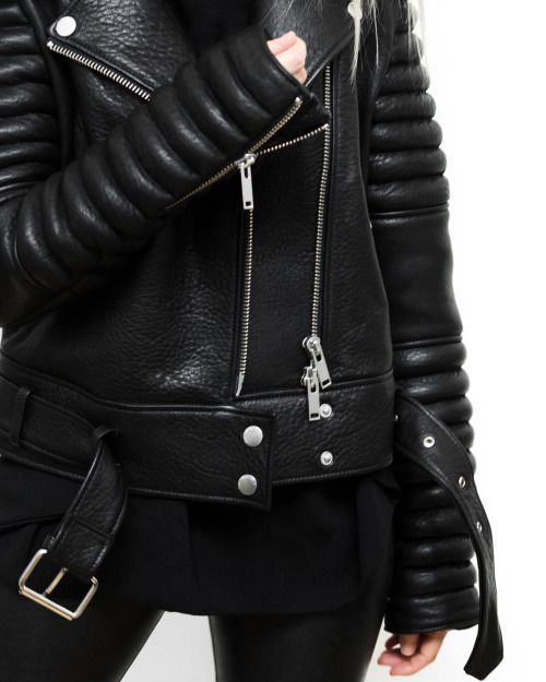 Rock A Gray Hat And Leather Jacket For Fall: 2566 Best LEATHER JACKET Images On Pinterest