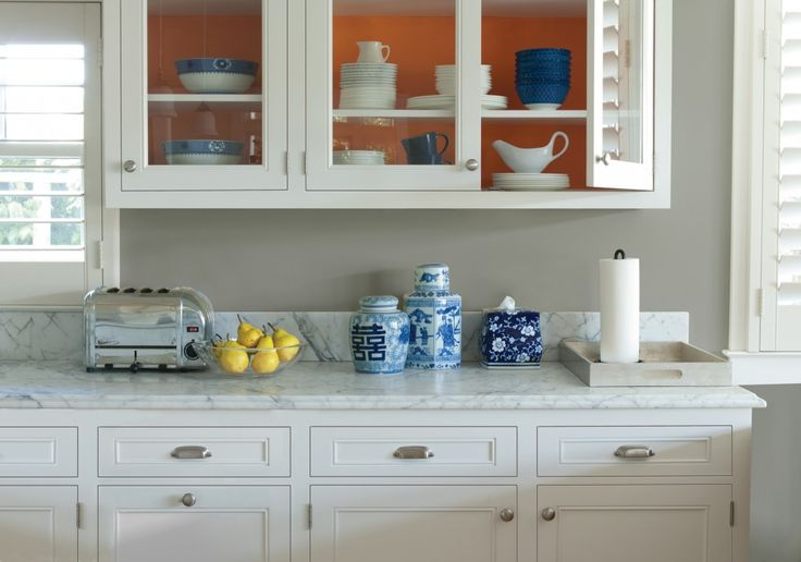 Wall color is San Francisco Fog by Kelly-Moore Paints. What a beautiful calm neutral! Love this!