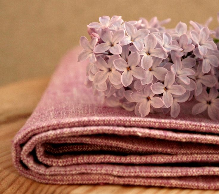 Linen and lilacs