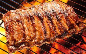 Costițe de porc la grătar cu sos barbecue