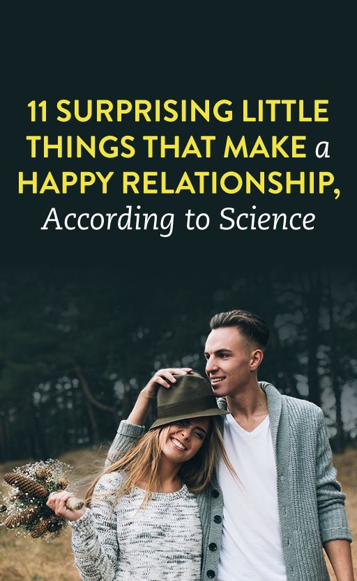 These Surprising Things Make A Happy Relationship