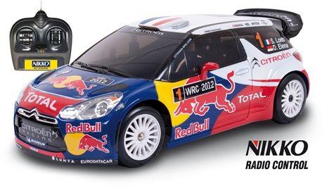 Nikko, Radiostyrd bil, Citroen DS3 WRC, Blå