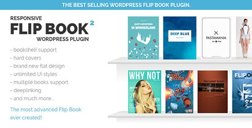 Create any FlipBook with ease. Comes with: bookshelf, zoom, print, PDF to FlipBook, table of content, hard covers, flat design, custom styles, lazy load.