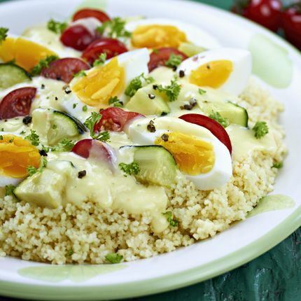 Egg and Vegetable Couscous - Recipes - Sprouts Farmers Market