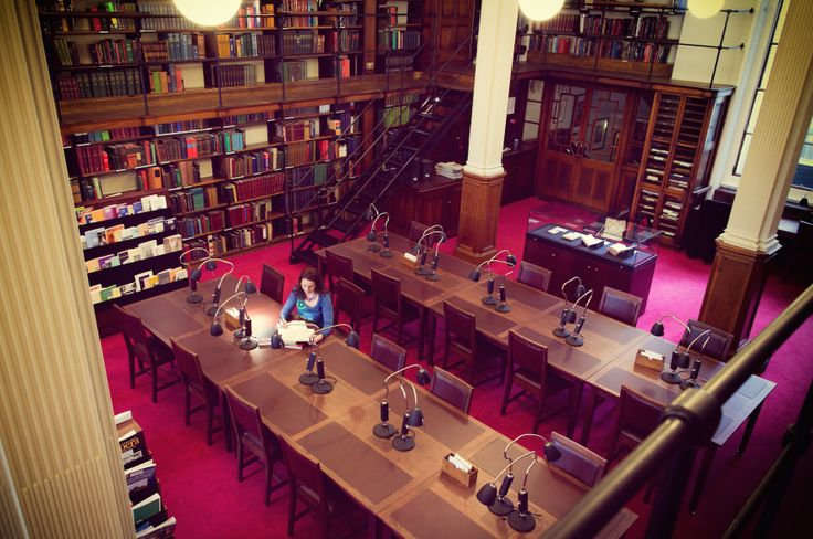 Working in the London Library