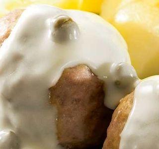 Thermomix Rezept: Königsberger Klopse mit Kartoffeln