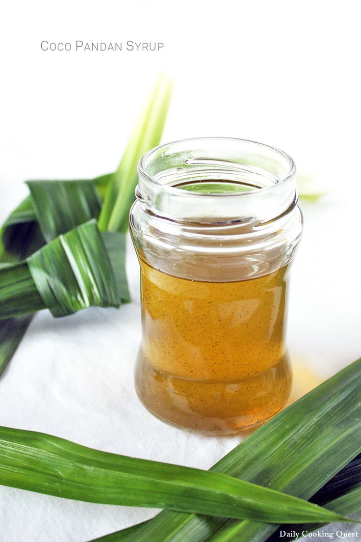 Coco Pandan Syrup -- Each time I make pandan extract, I am left with pandan leaf pulp, which is actually still very flavorful. Throwing them away seems like a major waste, so I use it to make home made coco pandan syrup. The store bought version always has red color, but when I go ...