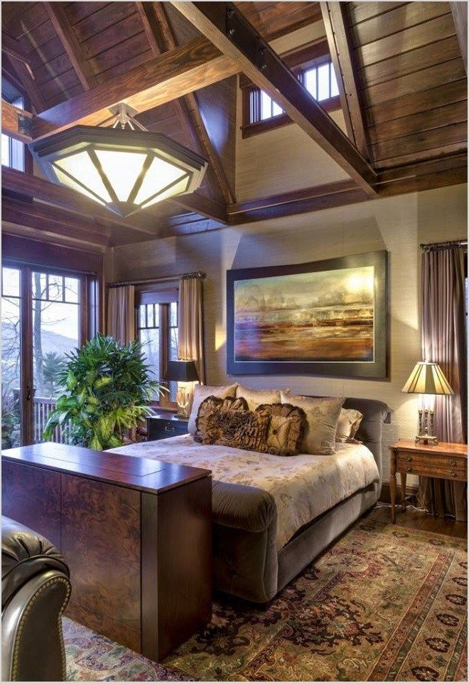 Modern Rustic Bedroom Decorating Ideas 54 Mountain 11 6