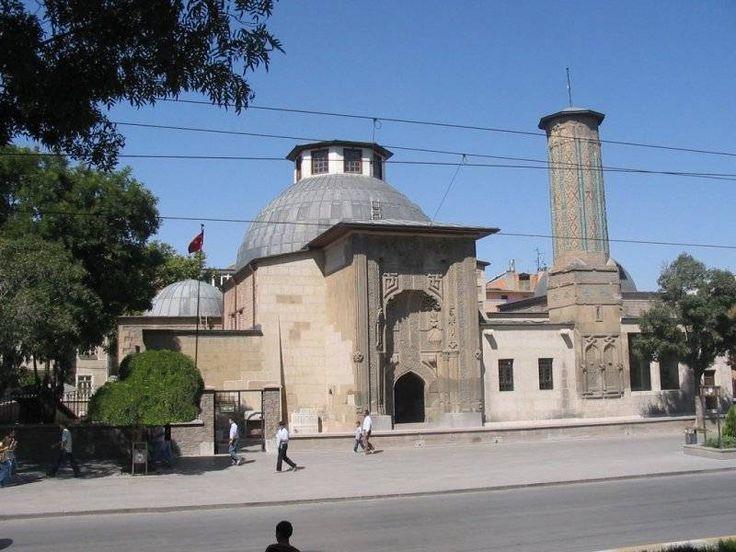 İnce Minareli Medrese   Konya   Selçuklu Sultanı 2.İzzettin Keykavus Devrinde Vezir Sahip Ata Fahreddin Ali Tarafından Yaptırılmış   camilerimiz cami arsivi