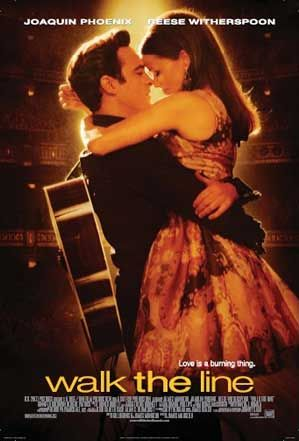 Walk the Line. My heart is in love with this movie. The music is so great but I love the performances of Joaquin Phoenix and Reese Witherspoon. They made the movie memorable for me.