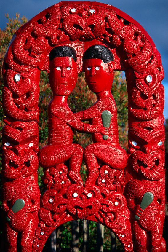 Traditional Maori Art: 17 Best Images About Maori Wood Carvings From N.Z On