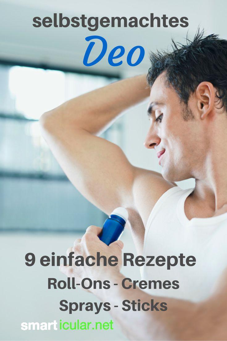 9 Rezepte für günstige und gesunde Deos zum Selbermachen