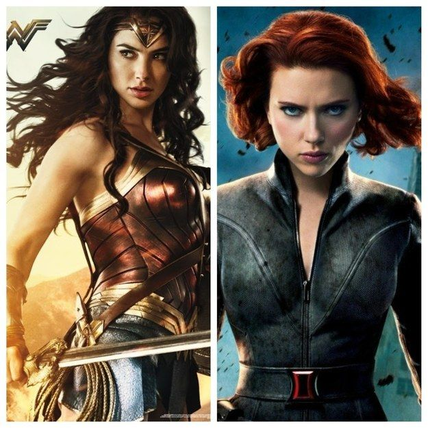 Everyone Is A Combo Of Two Badass Female Superheroes Which Two