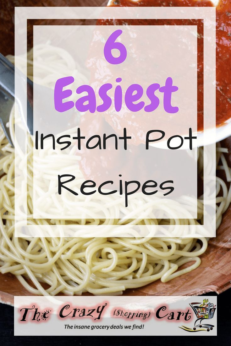 I use at least one of these each week with my Instant Pot!  They are super easy, and they make cooking dinner less of a chore.    The 6 Easiest Instant Pot Recipes for Beginners