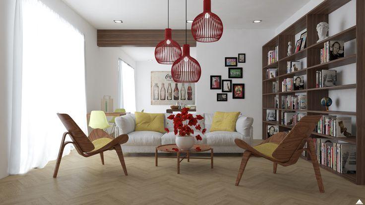 /Render /Loft /Interiordesign
