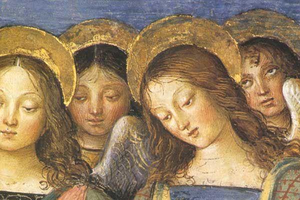 pinturicchio spello - angeli