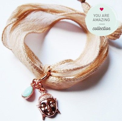 Rosé Buddha Jewerly from YOU ARE AMAZING only available at www.thebungalow.ch