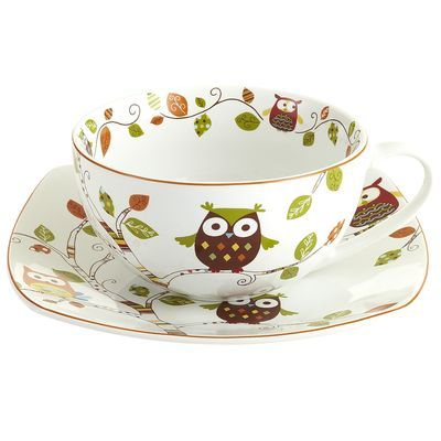 Absolutely love this cup and saucer set. I desperately need it.   http://www.pier1.com/Owl-Mug-and-Plate-Set/2656142,default,pd.html?cgid=dinnerware: