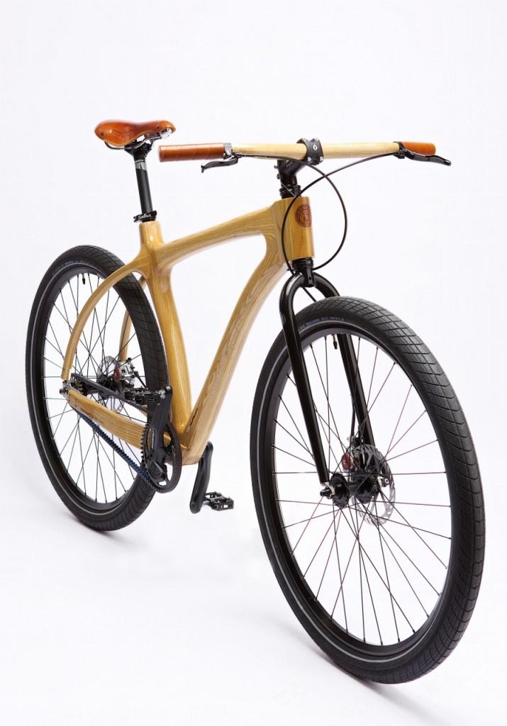 Woody Scorcher, wooden bike, houten fiets