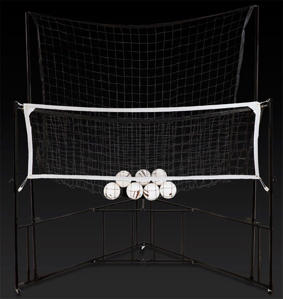 Networks Volleyball Training Equipment This is AMAZING!! No more shagging!