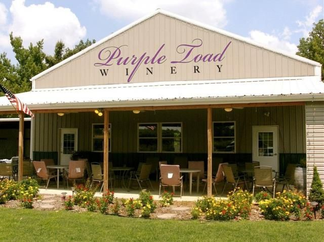Purple Toad Winery. One of my favorite places! Paducah, Kentucky
