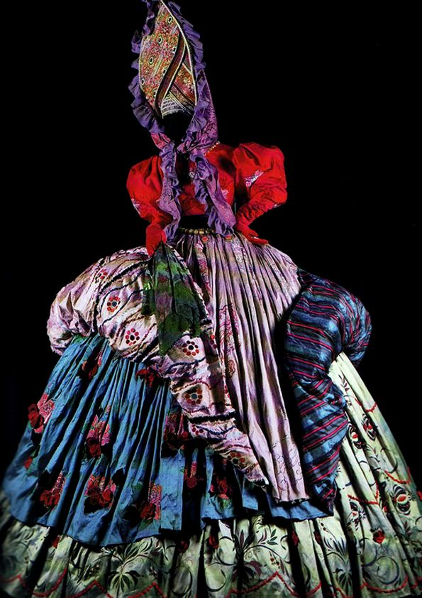 Theatre Costume designed by Gianni Versace.