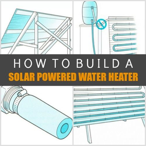 How To Build A Solar Powered Water Heater | Building a solar powered water heater is an excellent way to be environmentally friendly and cost efficient.