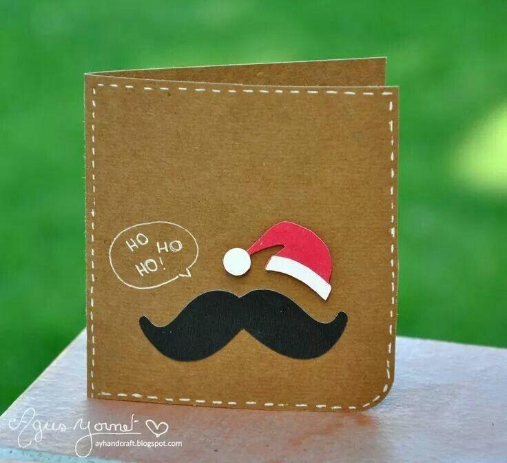Moustache santa